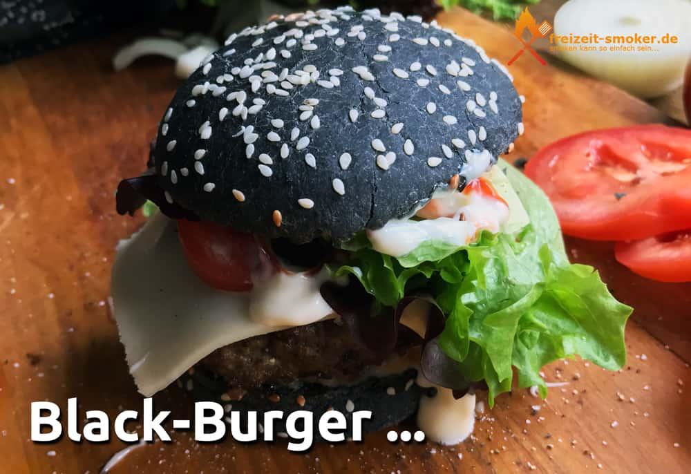 schwarzer hamburger black burger buns freizeit. Black Bedroom Furniture Sets. Home Design Ideas