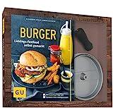 Burger-Set: mit antihaftbeschichteter Burgerpresse aus Aluguss (GU BuchPlus)
