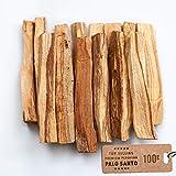 Aashram – Palo Santo Räucherstöckchen (100g) - Packung mit Palo Santo Stöckchen intensiver Holzduft - Für Yoga, Meditation, Entspannung, Reinigung und Heilung