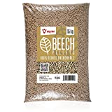 BBQ-Toro Beech Pellets aus 100% Buchenholz (15 kg)   Buchenpellets für Grill, Smoker, Pellet-Pizzaofen und Heizungsanlagen   Grillpellets