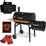 Grill`n Smoke Smoking Classic Barbecue Grill & Smoker Spar Set