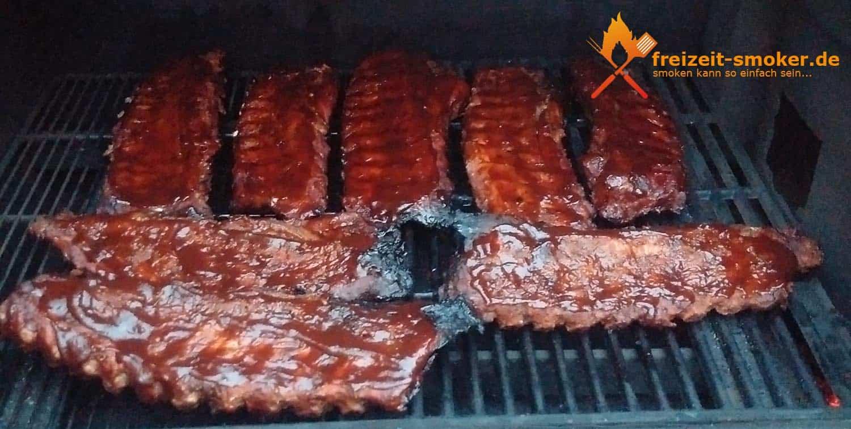Spare Ribs mit BBQ-Soße